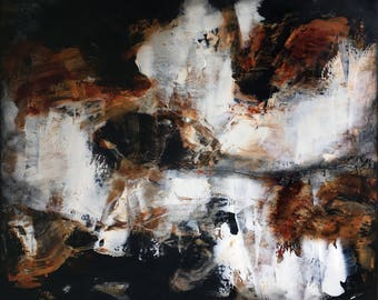 """Acrylic abstract painting, """"Everlasting"""""""