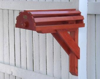 single wall saddle rack