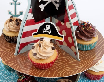 Ahoy There Pirate Theme Cake Stand