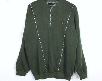 Vintage Lyle & Scott Pullover Sweatshirt L Size