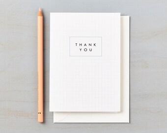 Retro Schoolhouse Design Thank You cards