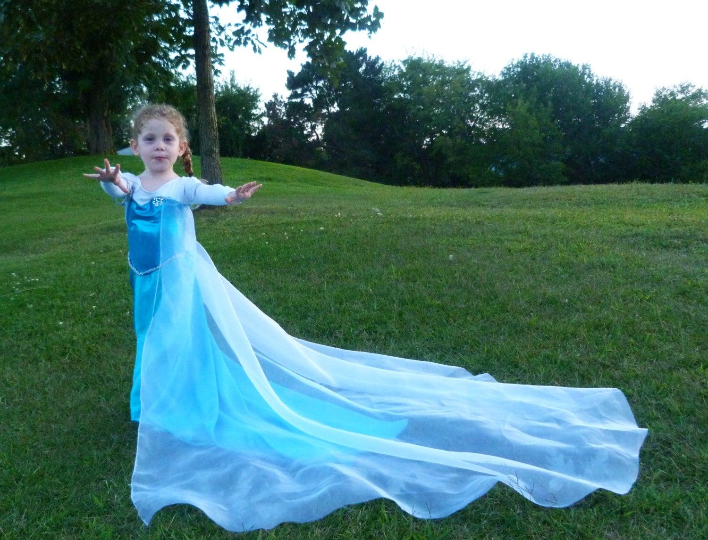 Elsa Costume Queen Elsa: Pretend play dress up Elsa dress
