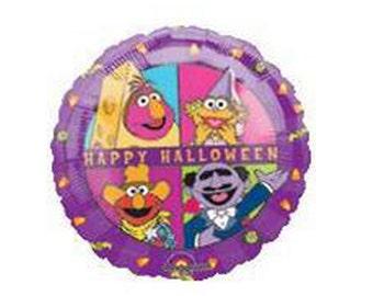 FAST SHIP 5 Elmo Halloween Balloons, Sesame Street Birthday Party Supplies, Halloween Balloons, Halloween Decorations, Kids Party Balloons
