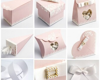 Shabby Chic Favour Boxes