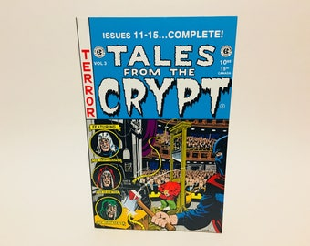 Vintage Horror Comic Magazine Tales from the Crypt Annual Vol. 3 1996 Five Issues