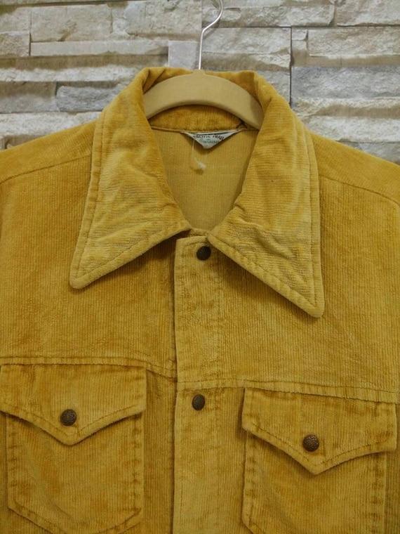 Vintage 70's 60's Pacific Trail Sportswear Jacket Corduroy Emblem 0f Quality YbAVQT6T