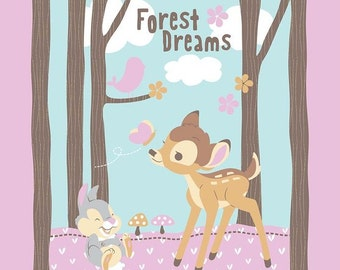 Bambi Forest Dream Panel from Springs Creative