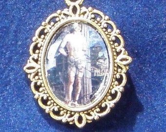 Saint Sebastien Religious Medal