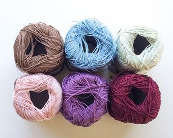 100% Silk Yarn, Extra Fine Silk, Pure Silk, Silk Knitting Yarn