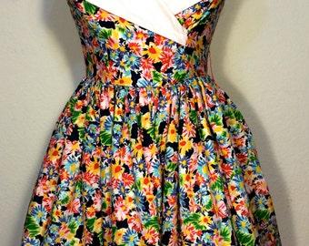 FREE   SHIPPING  Lillie Rubin Sun Dress