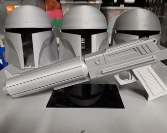Captain Fordo Clone Trooper Heavy Blaster From 2D Clone Wars Series