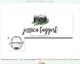 Camera Facebook Cover + Profile Image - Limited Edition! Coordinating Logo Available! Perfect for Photographer, Travel Blogger + much more!