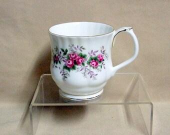 Royal Albert Lavender Rose Coffee Mug Montrose Shape