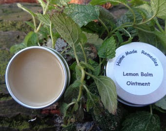 Lemon balm ointment - for coldsores, cuts & scrapes