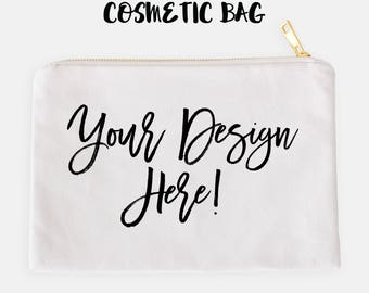 Cosmetic Bag chose the design from my prints collection or have me make one for you, customize your own unique gift