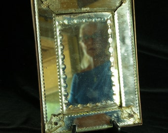 Venetian glass antique mirror circa 1700-1800? Very old and very rare.