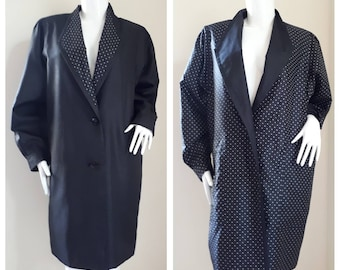 Vintage 60s 70s 2 Side Coat Dress  Size will fit to M - L
