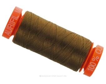 MK50 2372 - Aurifil Dark Antique Cotton Thread