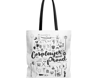 Cosplayer And Proud Tote Bag