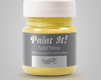 "Painting ""Paint It"" Rainbow Dust - Pastel yellow - 25ml"