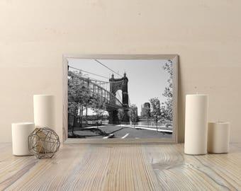 Roebling Bridge, Cincinnati, Ohio
