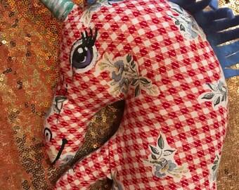 Unicorn Mermaid Stuffed Animal