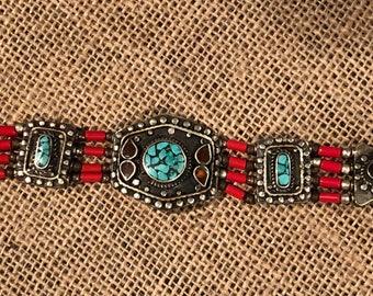 Vintage Southwest inspired bracelet