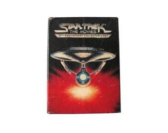 Star Trek 25e anniversaire VHS coffret