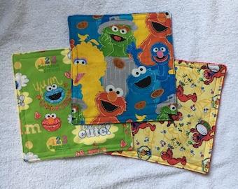 Sesame Street Crinkle Toys