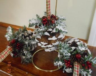 pine cone ornaments pinecone ornaments country christmas handmade ornaments pine cone decor rustic woodland ornaments - Pine Cone Ornaments