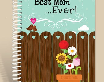 Personalized Gift for Mom / Best Mom Ever / Prayer journal / Lined notebook