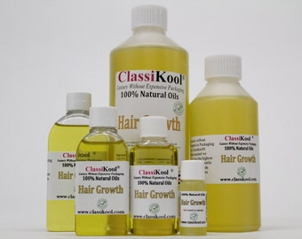 Classikool Hair Growth Blend: Essential Oil Nourishing Scalp & Hair Treatment (Free UK Mainland Shipping)