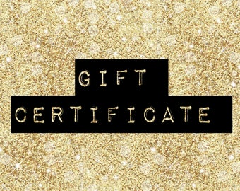 Gift Certificate for Silver Pencils