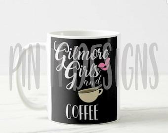 Gilmore Girls and Coffee Mug