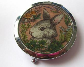 "Pocket mirrors ""vintage"" - pumpkin"