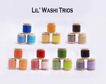 Lil' WASHI TRIOS  21 Total Rolls