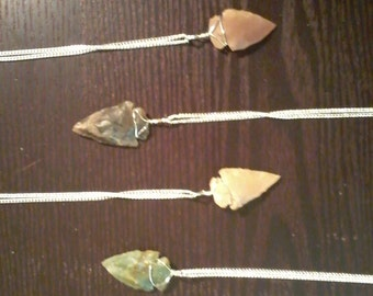 Handcrafted Arrowhead Pendant Necklace