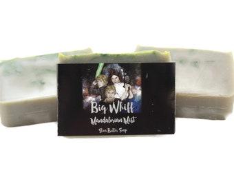 Mandalorian Mist - Star Wars Inspired Soap, Shea Butter Soap, Bar Soap, Handmade Soap, Artisan Soap, Vegan Soap, Cold Process Soap, Soaps