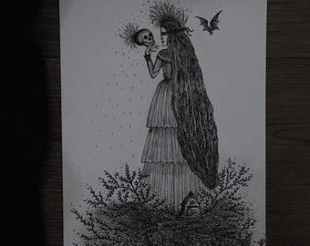Garden of Grave ~ Art Print.