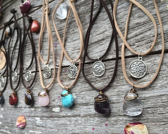 Chakra Necklaces, Chakra Pendants, Chakra Stones, Layered Necklaces, Chakra Jewelry, Spiritual Jewellery, Yoga Jewellery, kundalini necklace