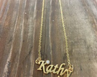 Kathy Necklace in Gold or Silver
