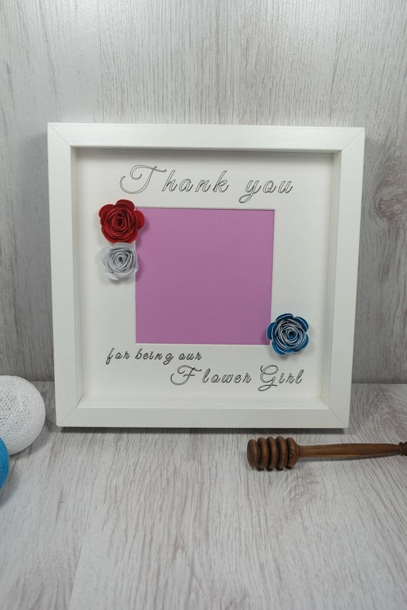 Thank You For Being Our Flower Girl Photo Frame Flower Girl
