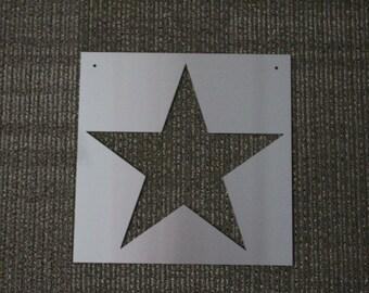 Metal Sign: Star