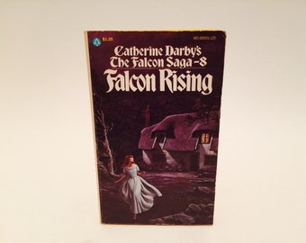Vintage Gothic Romance Book The Falcon Saga #8: Falcon Rising 1976 Paperback