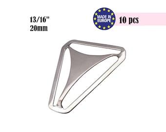 10 Suspender Hardware, Suspender Parts, Triangle Adjuster, Suspender Supplies, DIY Suspenders, Triangle Back, Boy Suspenders #297004