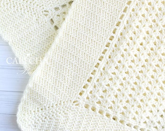 Crochet PATTERN 147 - Belle - Baby Blanket PATTERN 147 - Belle Crochet Blanket Pattern - Instant Download