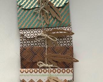 Envelopes / Boho Style / Gift Envelopes / Card Envelopes / Note Envelopes / Large Envelopes /Decorative Envelopes / Boho Envelopes/Set of 4