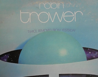 Robin Trower - Twice Removed From Yesterday - vinyl record