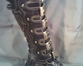 "Post Apocalyptic shoes ""Raider"";cosplay"