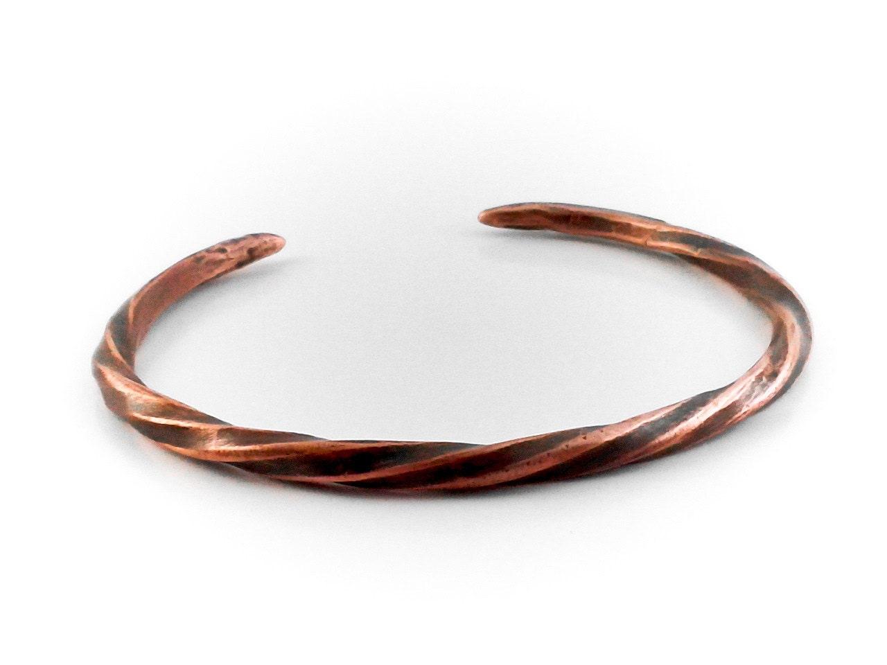 Twisted Viking Bracelet Cuff Torc Norse Thor\'s Twist